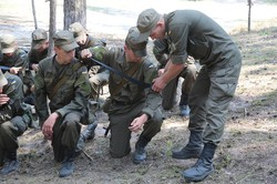 Курсанти Нацгвардії провели навчання за стандартами НАТО