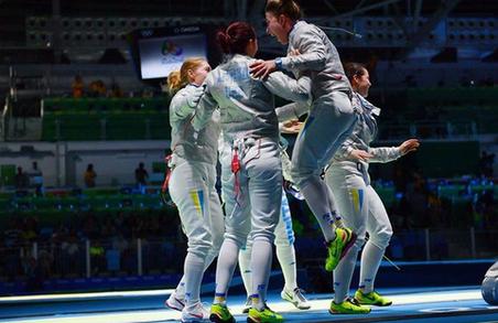Українські шаблістки здобули третє срібло на Олімпіаді