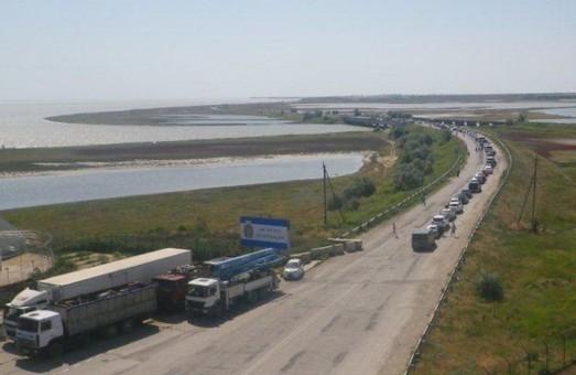 На кордоні з Кримом зараз спокійно