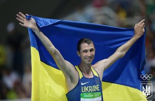 Ігор Райнін привітав легкоатлета Богдана Бондаренка з олімпійською «бронзою»