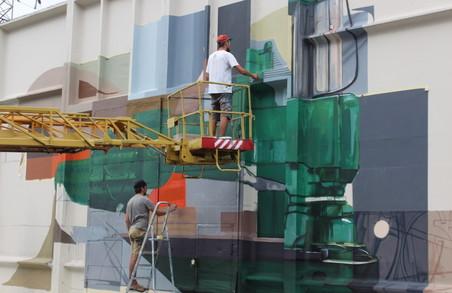 Мистецтво на стінах заводу. Як «Турбоатом» став майданчиком для митців