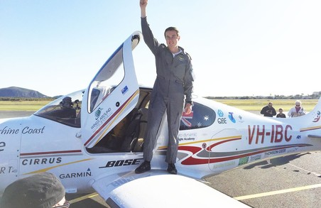 18-річний Леклен Смарт успішно завершив навколосвітню подорож