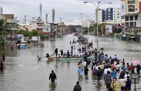 Повінь в Індії, загинуло 156 осіб