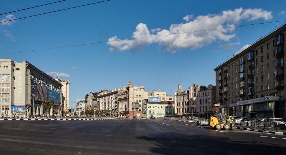 Открытие Павловской площади