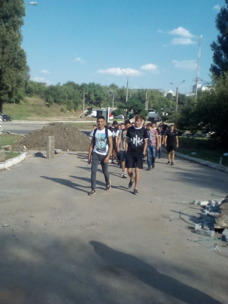 ЦК «Азов» протестует против строительства заправки (ФОТО)