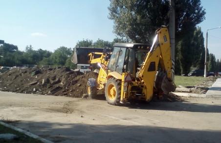 ЦК «Азов» припинив будівництво «чорної»  АЗС  на Салтівці