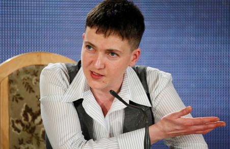 Надія Савченко потрапила в ДТП