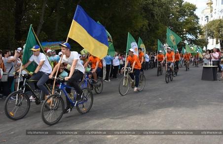 Півтисячі школярів взяли участь у велопробігу в П'ятихатках