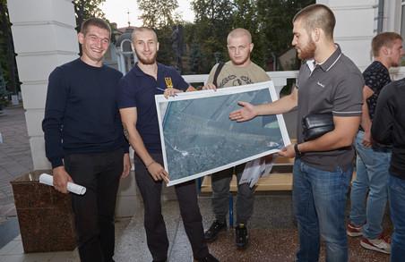 Ветерани АТО отримали земельні ділянки в Харківській області