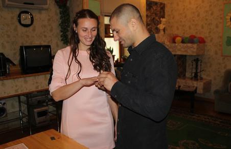 У харківській колонії відсвяткували три весілля (фото)