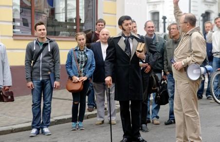 Цими вихідними центром Харкова гуляв сам Квітка-Основ'яненко