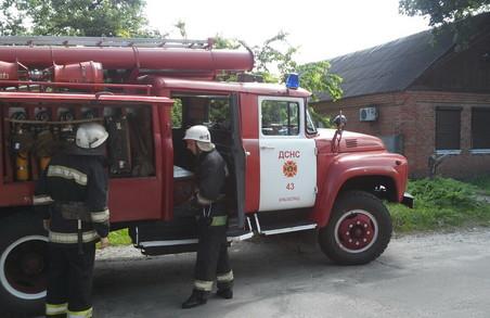 На Харківщині чоловік згорів у своєму будинку