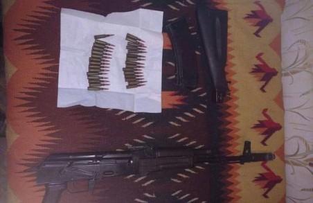 У Харкові затримано чоловіка, який закликав до створення «Новоросії» та зберігав вдома зброю