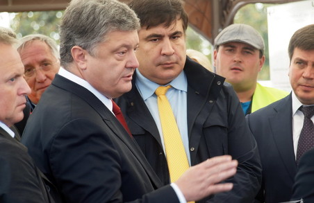 Порошенко назвав трасу Одеса – Рені стратегічним проектом держави (ФОТО)