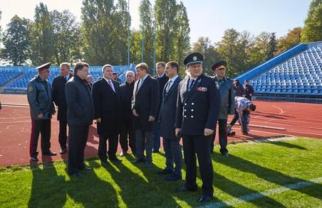 Легкоатлетичний манеж та велотрек «Динамо» відремонтували за 11 млн грн