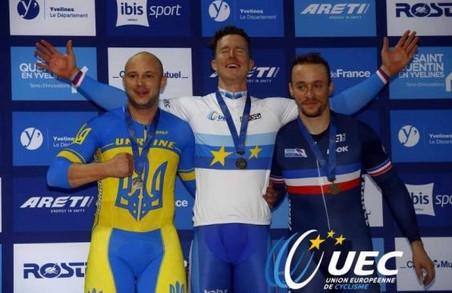 Харківський велогонщик привіз дві медалі з чемпіонату Європи