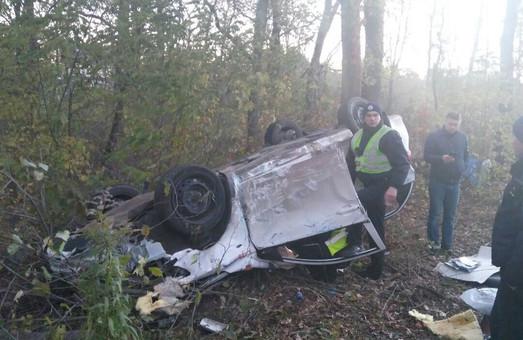 У Харкові Toyota потрапила в ДТП, водій зник
