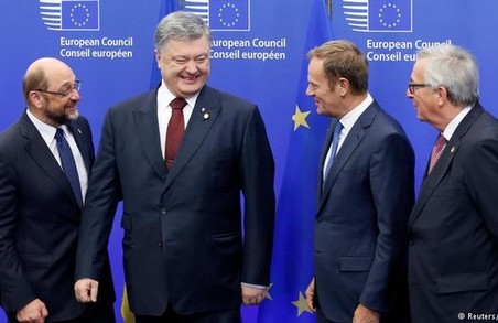Саміт Україна-ЄС: безвіз – Українї, санкції – Росії