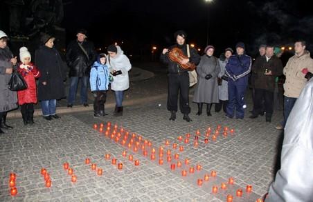 Харків'яни запалять свічки в пам'ять про жертви Голодомору