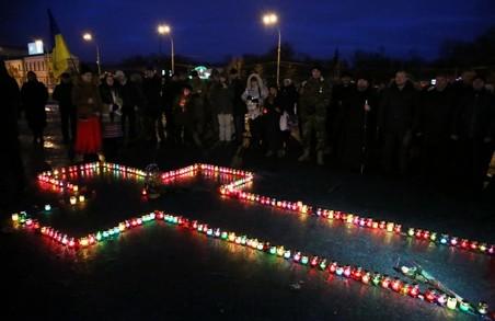 """""""Запали свічку"""": як це було у Харкові (фото)"""