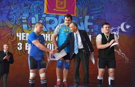 Харківські важкоатлети перемогли на турнірі пам'яті Ігоря Рибака