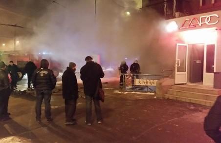 Поліція з'ясовує обставини, що призвели до вибуху в центрі Харкова