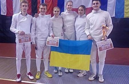 Кубок світу на шпагах серед юніорів: наші фехтувальники здобули «бронзу»