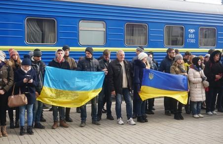 З Києва поїде патріотичний потяг