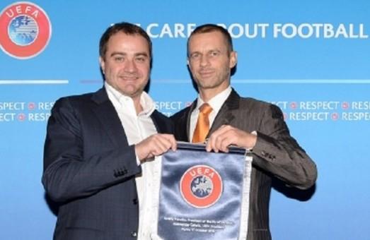 Значну роль у прийнятті УЄФА рішення по матчам у Харкові зіграли зусилля керівництва ХОДА - Павелко