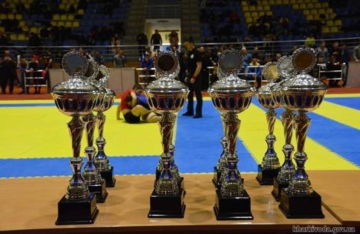 На чемпіонаті України з панкратіону харків'яни вибороли 11 золотих нагород