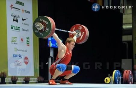 Харківський важкоатлет став срібним призером чемпіонату Європи