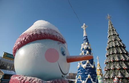 Яскраві концерти та найбільша ялинка: Новий рік у Харкові