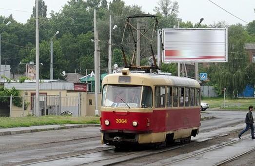 Трамваї до Малої Данилівки не ходитимуть ще тиждень