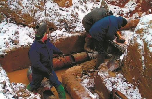 У частин Харкова тимчасово припинено водопостачання