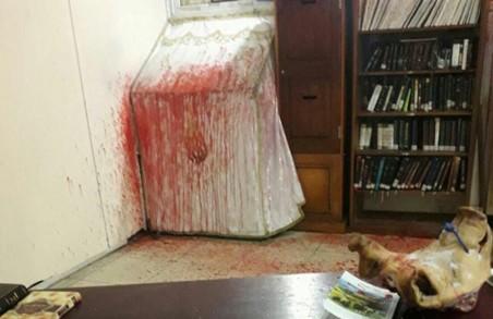 В Умані скоєно напад на синагогу