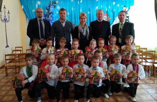 Світлична відкрила сучасну групу у Краснокутському дитячому садку