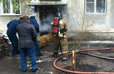 Чоловік і жінка отруїлися чадним газом внаслідок пожежі