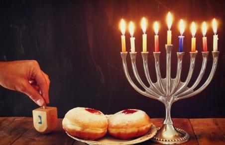 Харківські іудеї святкують Хануку