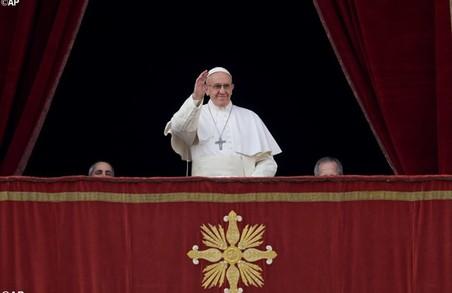 Мир чоловікам і жінкам, що досі страждають від наслідків конфлікту в східній Україні - Папа Франциск