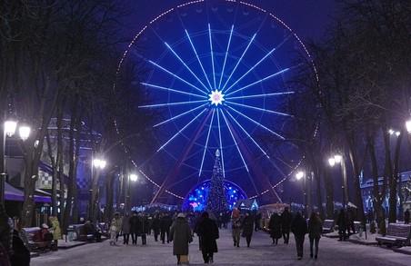 Головна тема всіх новорічних заходів у парку Горького - казка Маршака «Дванадцять місяців»