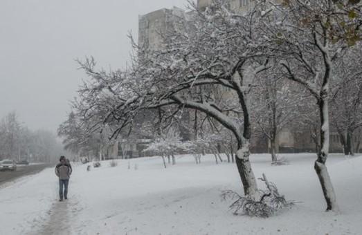 Завтра в Харкові можливий сніг з дощем