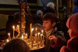 У харківських храмах пройшли Різдвяні богослужіння
