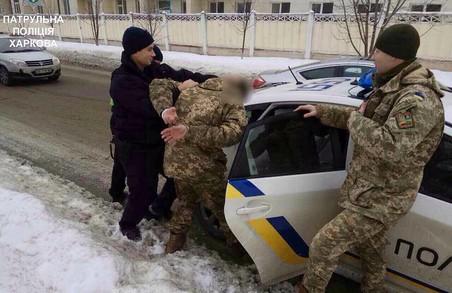 По Харкову пройшли масові перевірки військовослужбовців