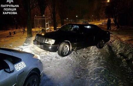 П'яний водій не зміг втекти від поліції