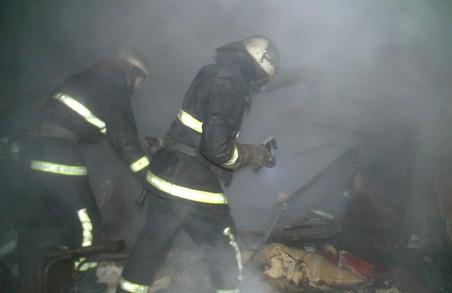 Під час пожежі в Новобаварському районі загинула людина