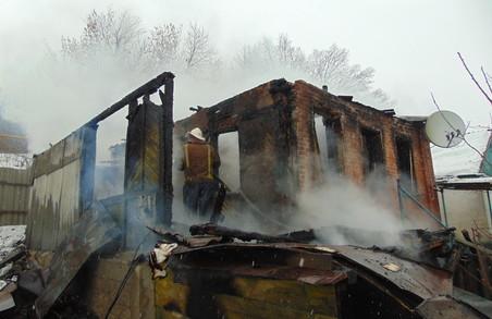 Внаслідок пожеж на Харківщині протягом тижня загинуло 5 осіб