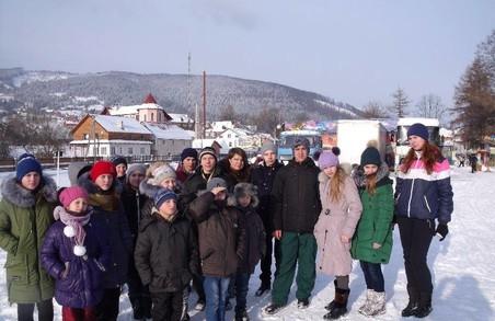 За підтримки Харківської «Солідарності» діти відсвяткували Різдво на Калущині