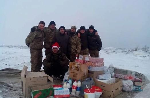 Харківський депутат від «Солідарності» передав гуманітарну допомогу до зони АТО / ФОТО