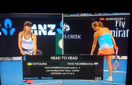 Світоліна програла Павлюченковій в третьому колі Australian Open