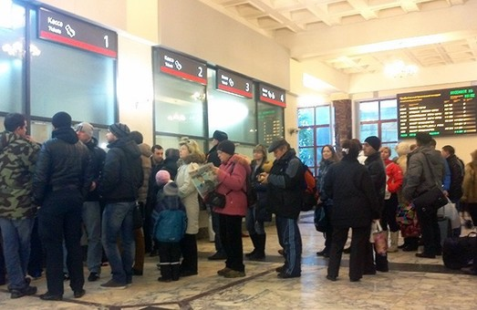 Квиток на потяг можна буде купити через термінал самообслуговування.